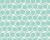 Seafoam Swirls Circles From Art Gallery's Round Elements Collection - Choose Your Cut