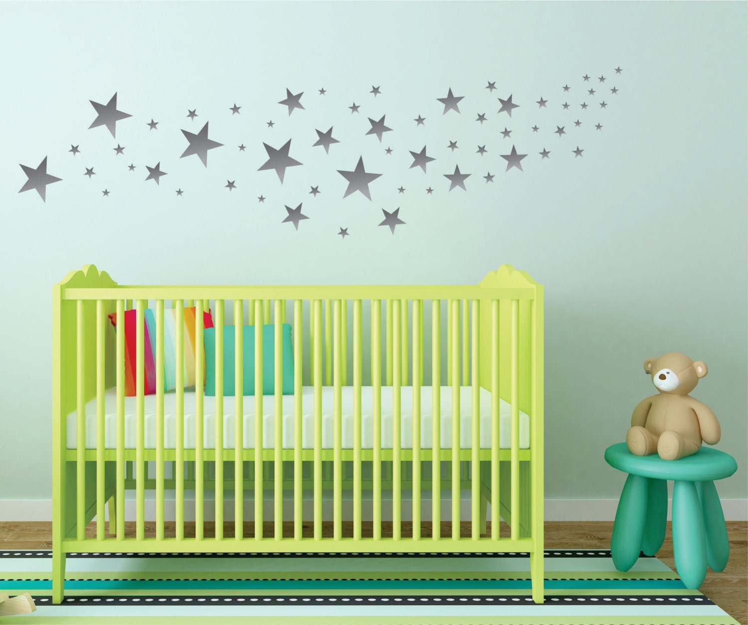 silver star wall decals nursery wall decals design pack of 109 silver star wall decals nursery wall decals design pack of 109 stars