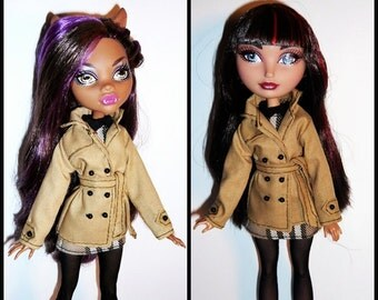 Monster/Ever After Doll Outfit  - Pret-a-porter - Rainy Day Outfit