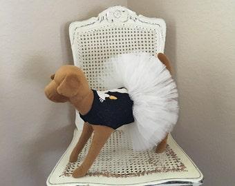 Swan Lake Dog Dress, Ivory