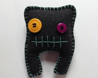 Dave -  Handmade Monster Plush Toy
