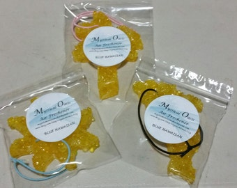 Hanging Aroma bead Mystical Air Fresheners for autos, drawers, windows etc.