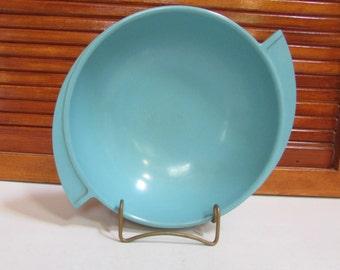 Boonton Melmac Turquoise Snack Bowl