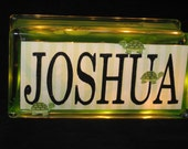 Put your name in lights with animals