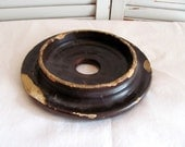 Antique Butter Churn Lid / Chippy Butter Churn Lid