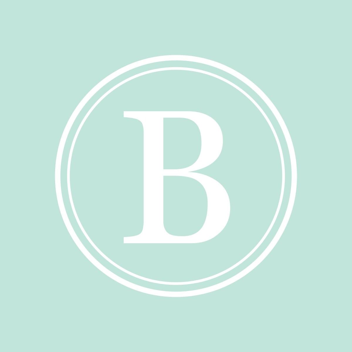 Baby Monogram Wall Decor Monogram For Boys Monogram For Girls Nursery Monogram