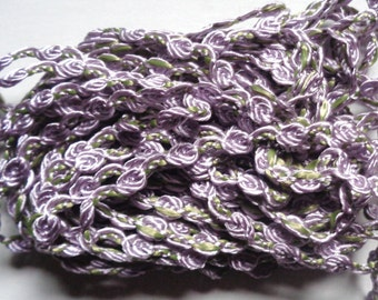 "Rosebraid orchid 1/4"" Braid price per yard"