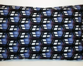 Tardis Doctor Who Pillowcase Police Box