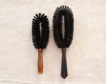 Vintage Pair of Clothes Lint Brushes
