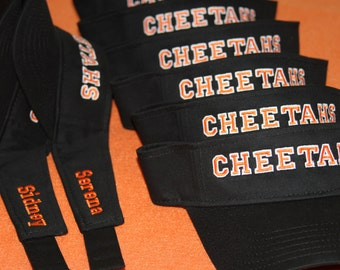 Softball Hats and Visors; Personalized for your Sports Team; Many Colors and Styles to Choose From