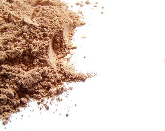 Mineral Foundation - Tan 8  Matte Finish Makeup - Vegan Friendly Makeup - Noncomedogenic - Conceaer