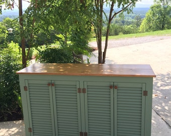 Rustic Painted Sideboard, Rustic Buffet, Sideboards and buffets