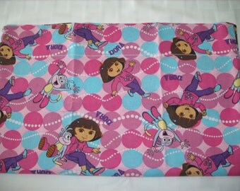 Dora travel pillowcase