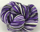 SFA Jacks: Superwash sparkly Panache Self Striping Sock Yarn