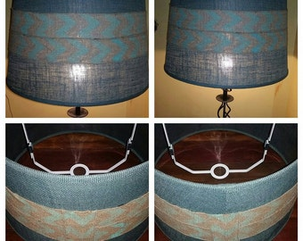 Chevron Lamp Shade Etsy