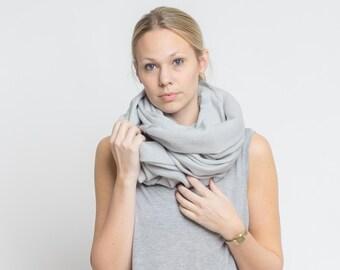 merino scarf - taube