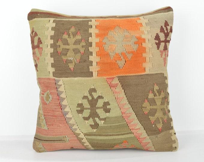Wool Pillow, Kilim Pillow, KP1074,  Decorative Pillows, Designer Pillows,  Bohemian Decor, Bohemian Pillow, Accent Pillows, Throw Pillows