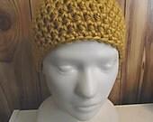 Bulky yarn Beanie- Chemo hat