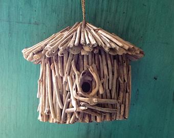 Beach Décor Driftwood Birds House by SEASTYLE