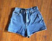 SALE High Waist Jean Shorts