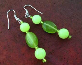 Lemon-Lime Drop Earrings