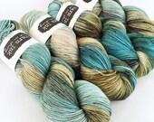 sparkle {sock} | QUARRY | ready to ship | hand dyed yarn | merino nylon stellina fingering