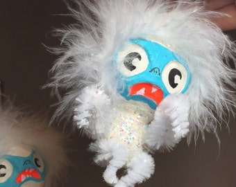 Abominable Snow Baby ornament