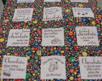 Chocolate Lover's Quilt
