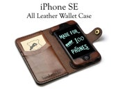 iPhone SE Leather Wallet ...