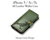 iPhone 5 Case - All Leath...