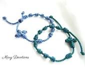Knotted Rosary Bracelet