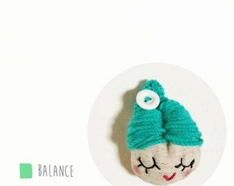 Claratterina green - balance