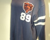 Vintage Chicago Bears Throwback Jersey of Mike Ditka's Number 89, Size Large in Vintage Condition from the NFL Vintage Collection