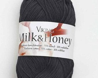 SALE 47% Off Milk & Honey Dk Yarn By Viking of Norway   / 50g / 1.76oz #803