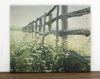 Rustic Home Decor, Farmhouse Wall Art, Country Picture, 16x20 Canvas, Large Photography, Nature Gallery Wrapped Canvas
