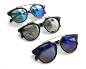 REALITY Mirror Lenses Sunglasses - 5 Colors - 100% UV Protection