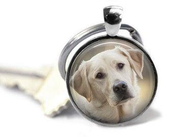 Yellow Labrador Retriever Key Chain