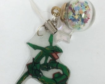 Rayquaza Pokemon cell phone DS Charm GO