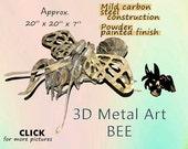 A Metal Art Bumble Bee, Steel Bee Art