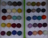 2 cm Wool felt ball 200 pcs