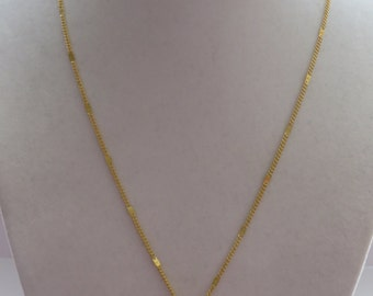 Vintage Gold Tone Heart Shape Pendant