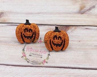 Pretty Pretty Pumpkin Earrings/Halloween Earrings/Nickel Free