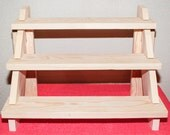 1 Craft show 3 shelf display shelf Breaks Down NO Tools Required