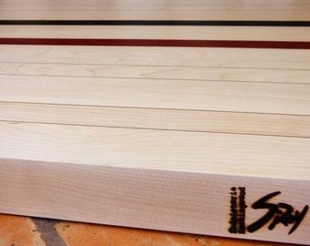 Wood countertop cutting board (small)