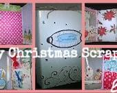 Merry Christmas Scrapbook, Mini Album, Family Album, Keepsake,