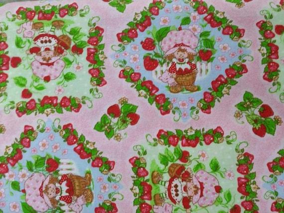 Vintage Strawberry Shortcake Fabric 91