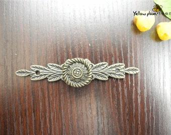 1/2/10 Pcs 84*18mm antique brass color dresser drawer pulls handles / Cabinet Knob Pull Handles H012