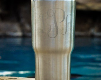 Personalized RTIC, Ozark Trail or YETI  20 oz Tumbler, Permanently Etched, Custom Design