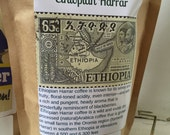 Ethiopian Harrar Longberry hints of blueberry and apricot