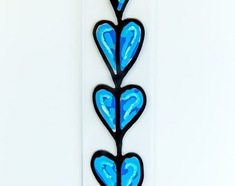 """Blue Hearts 4x18"""""""